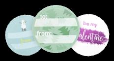 Sticker mit eigenem Logo