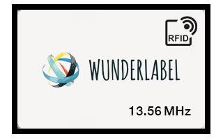 RFID 13.56 MHz Plastikkarte