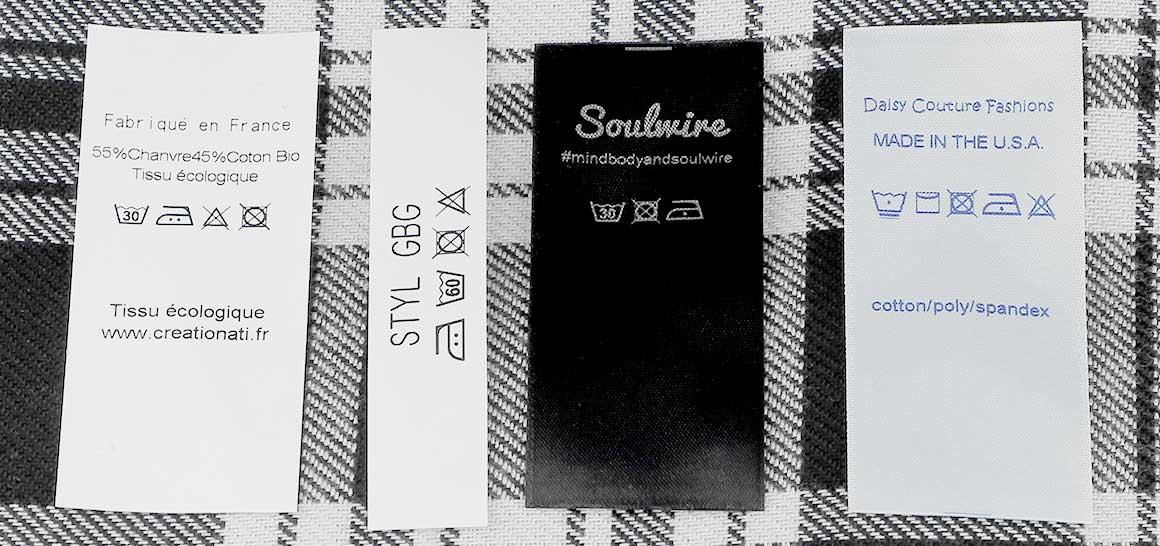 So sollte jedes gute Textilpflegeetikett aussehen