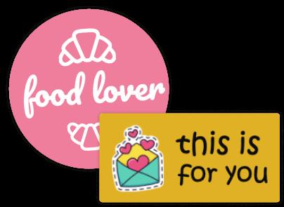 Sticker mit Text & Symbol - online entwerfen