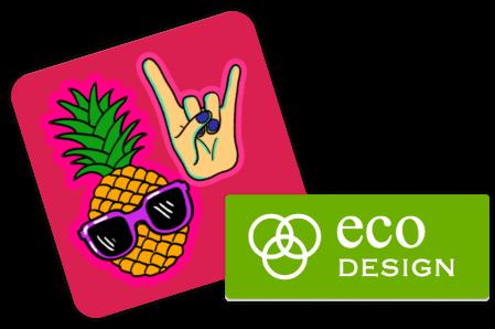 Sticker mit eigenem Logo - Logodesign hochladen