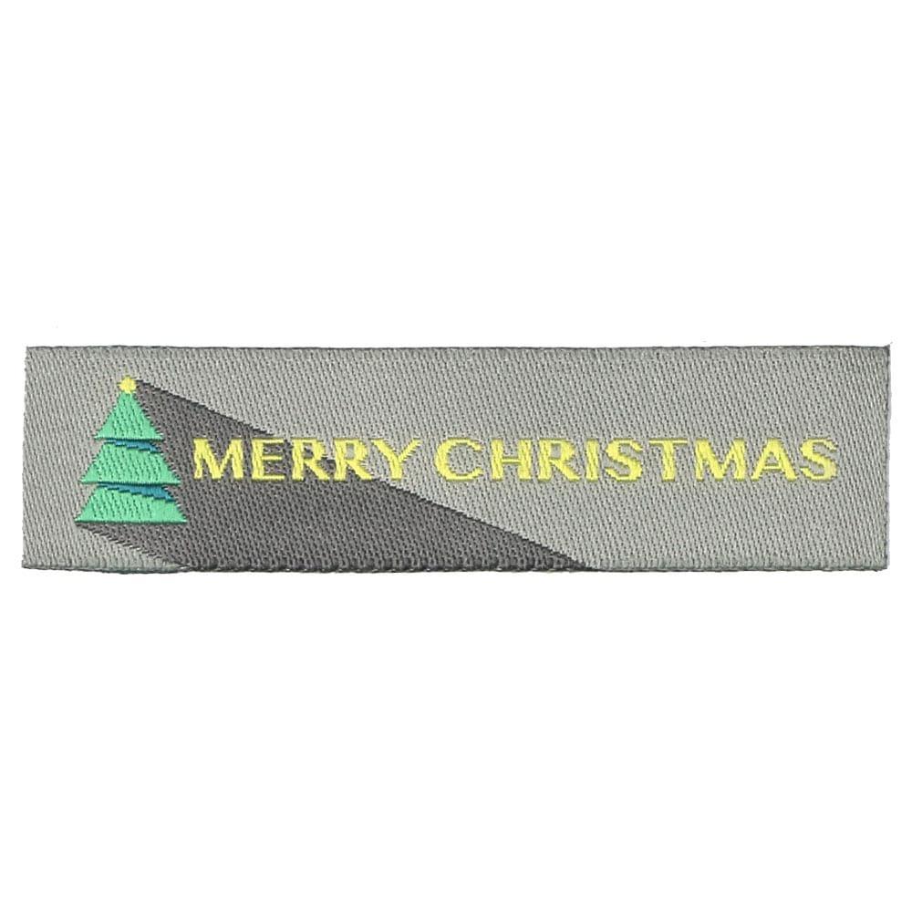 Weihnachtliche Webetiketten - Weihnachtsbaum