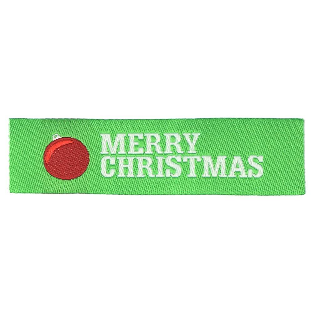 Weihnachtliche Webetiketten - Ornament