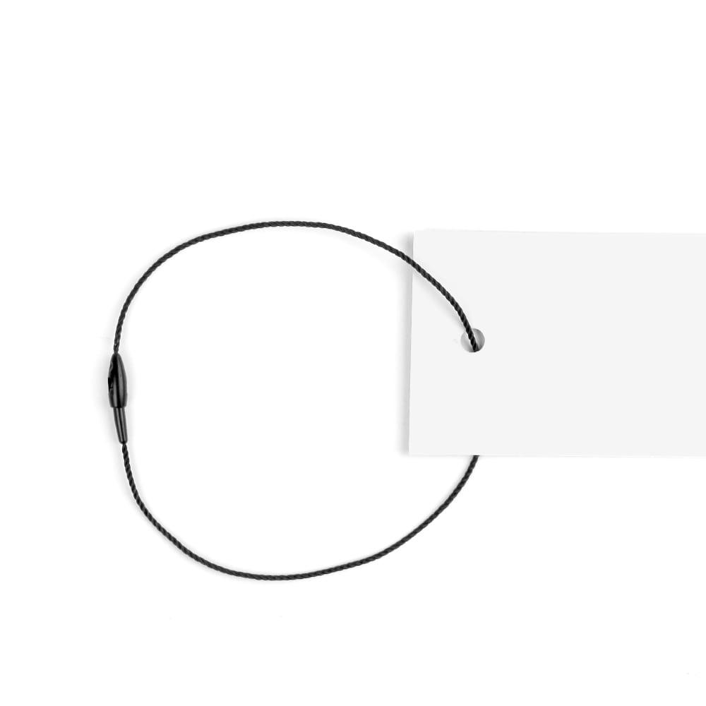 Hangtag Kordeln mit Snap Verschluss